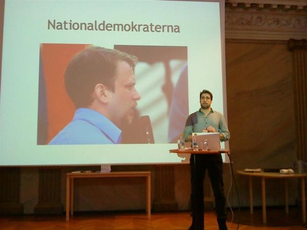 Jonathan Leman håller föredrag