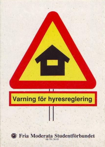 Varning för hyresreglering