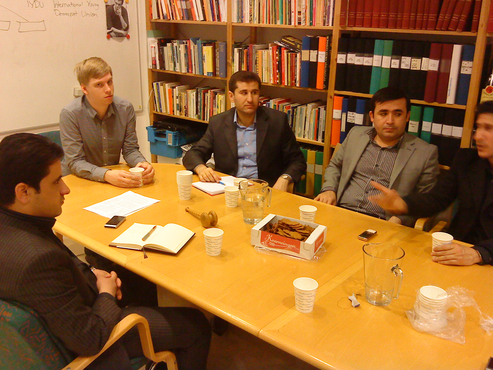 FMSF besöktes av Kurdistan Student Union