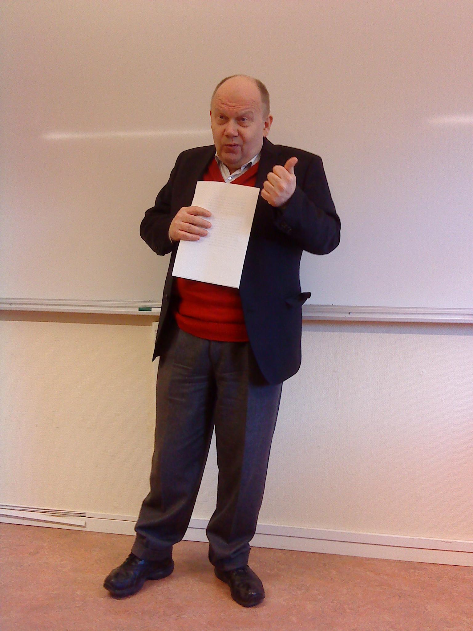 Bo Inge Andersson hos FMS Uppsala