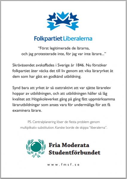 Almedalen dag 5: Folkpartiet