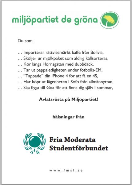 Almedalen dag 2: Miljöpartiet