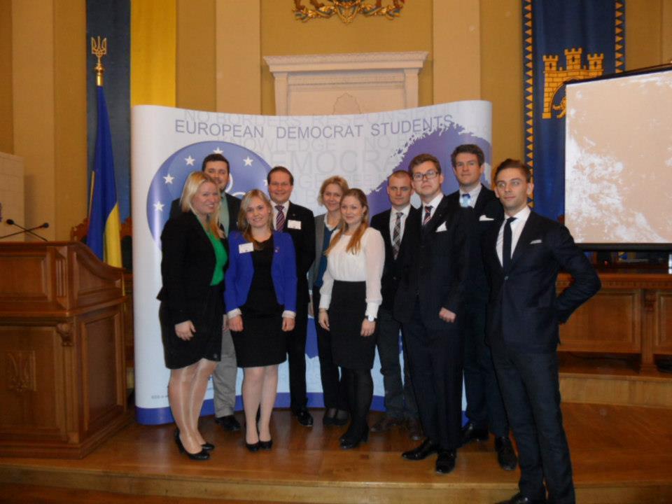 Platsrapport: EDS i Lviv, Ukraina