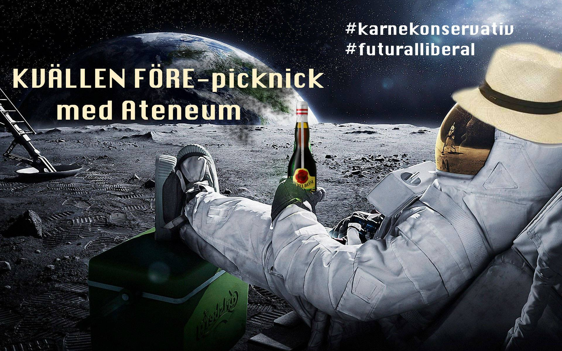 Lund: Futuralliberal karnekonservativ picknick med Ateneum 15/5