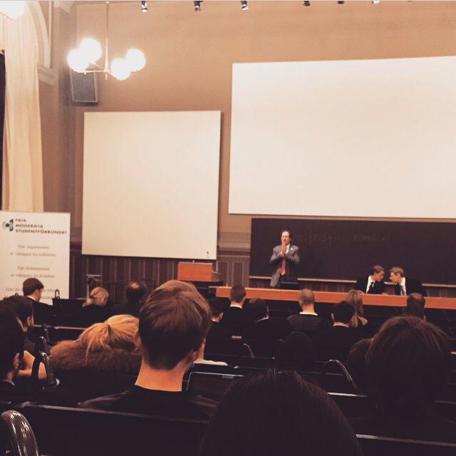 USA:s ambassadör gästar Geijerska Studentföreningen (Uppsala)