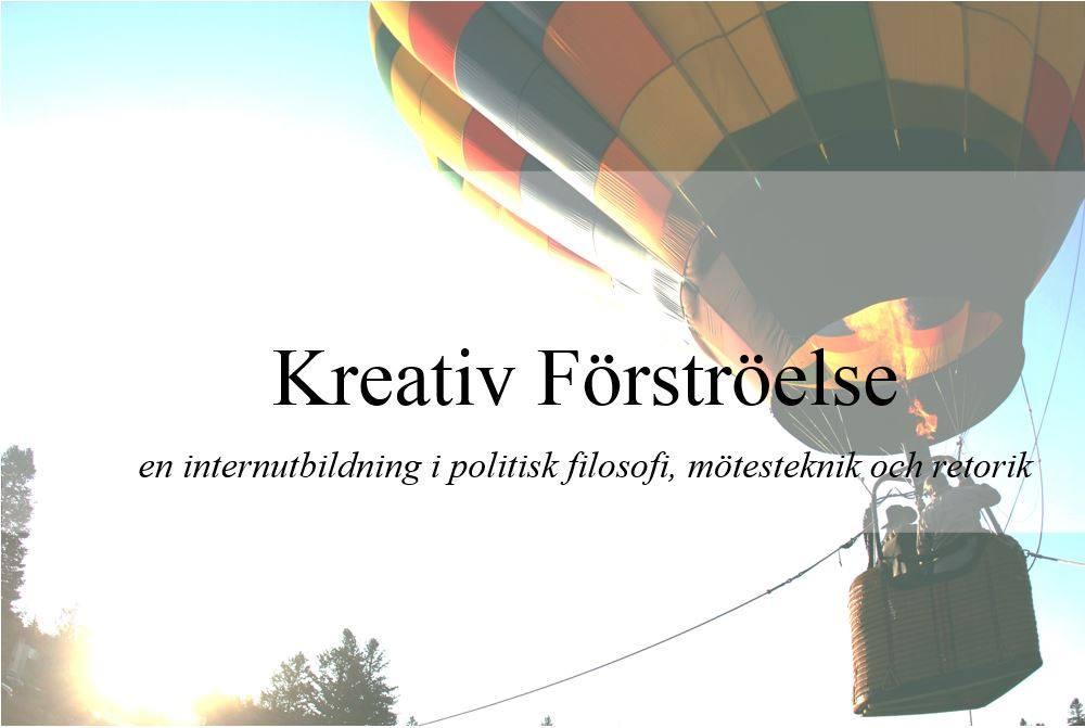 Ansök till FMSF:s internutbildning Kreativ Förströelse!