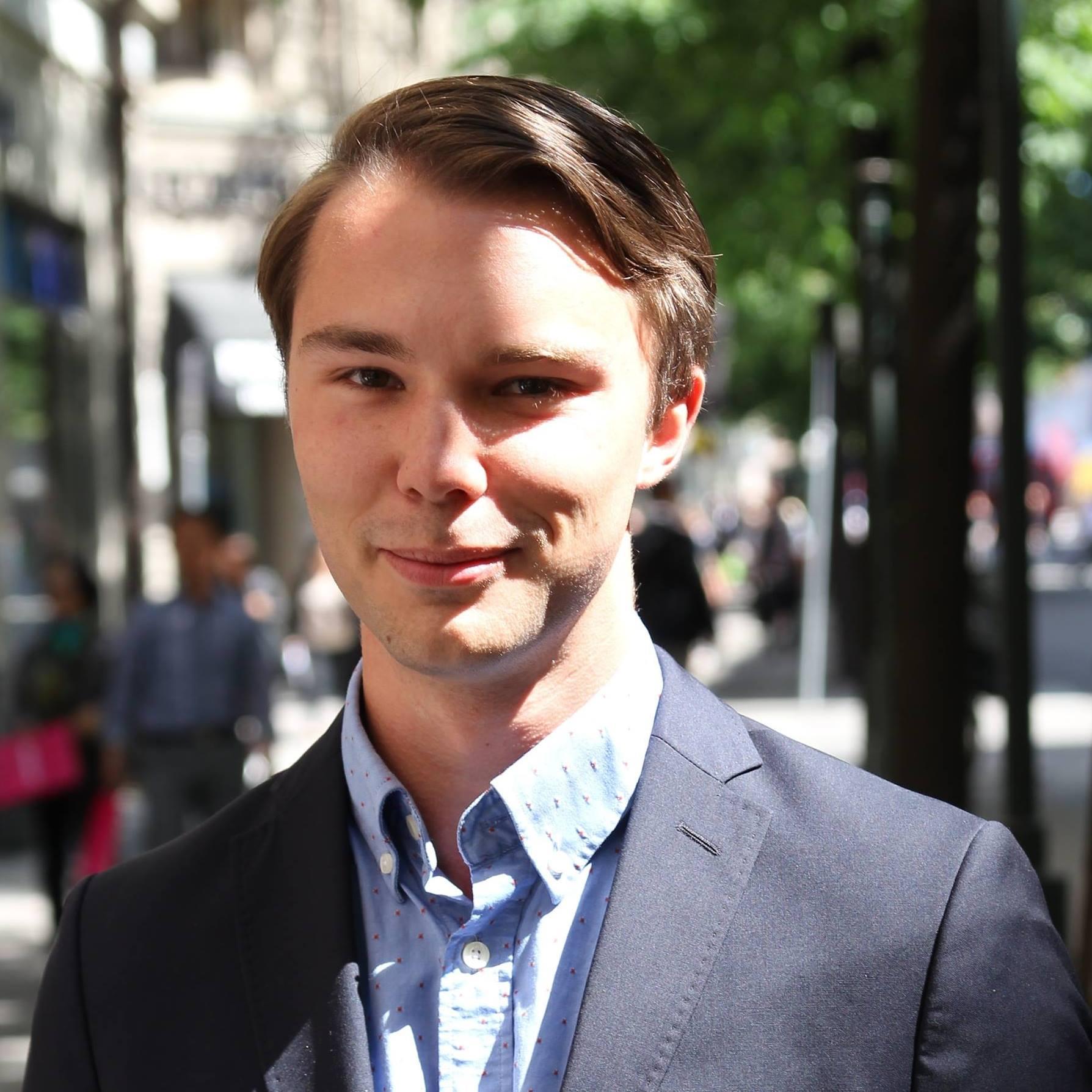 Alexander Fritz Englund ny organisationssekreterare