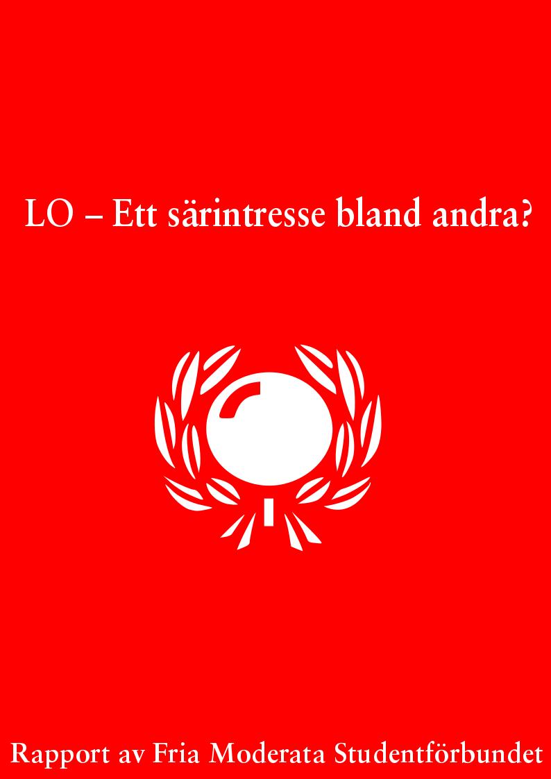 Rapport: LO – ett särintresse bland andra?