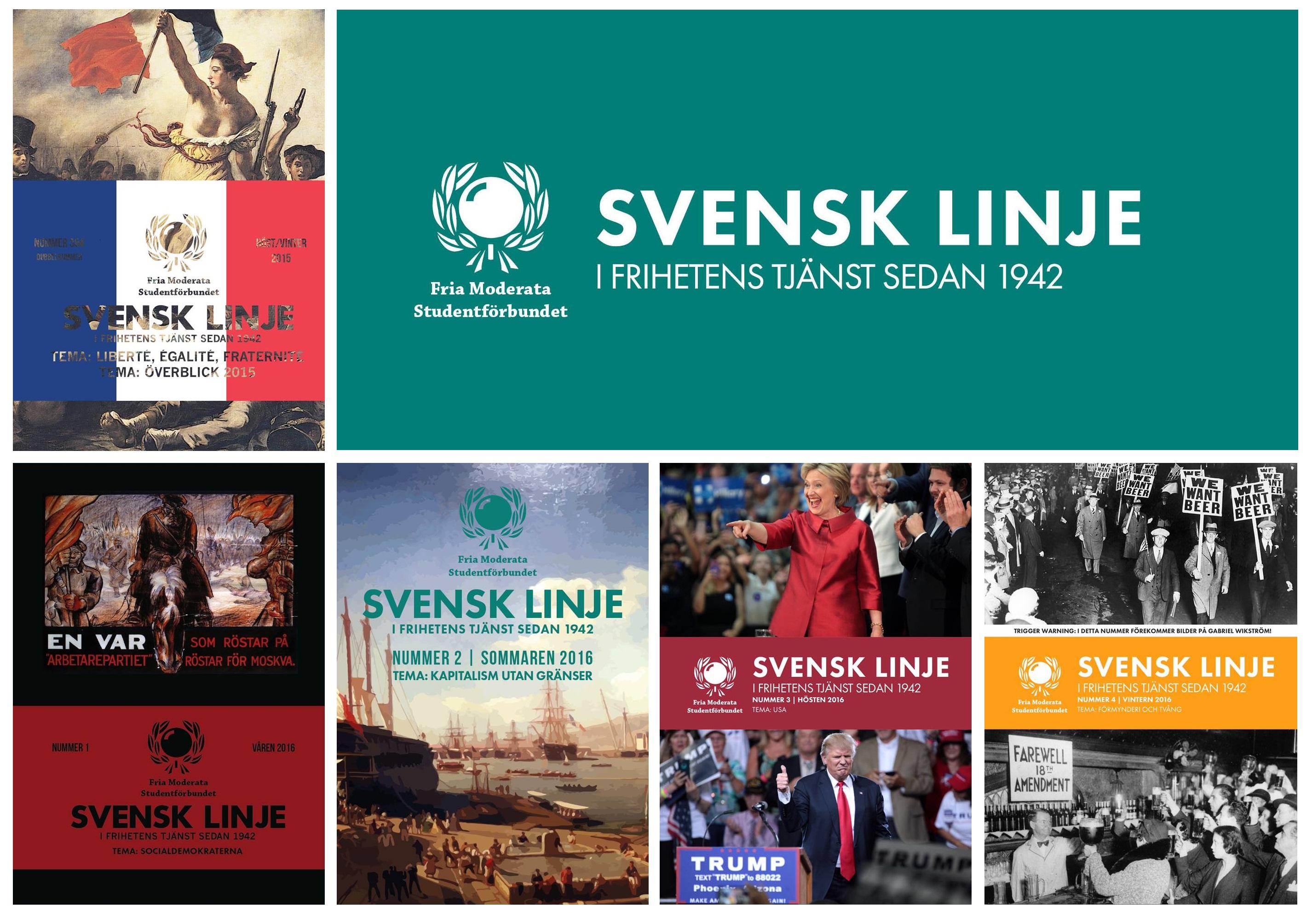 Ny redaktör Svensk Linje