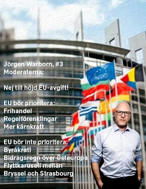 Stoppa höjningen: Jörgen Warborn, #3 Moderaterna