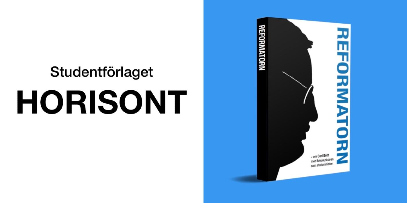 FMSF återupplivar Studentförlaget Horisont – ger ut antologi om Carl Bildt