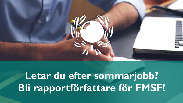 Sök sommarjobb hos FMSF!